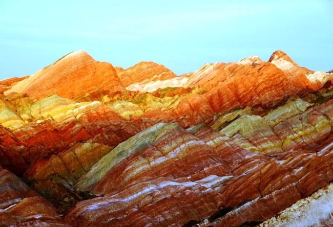 Multicolored rock Zhang Danks 4