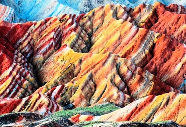 Multicolored rock Zhang Danks 5