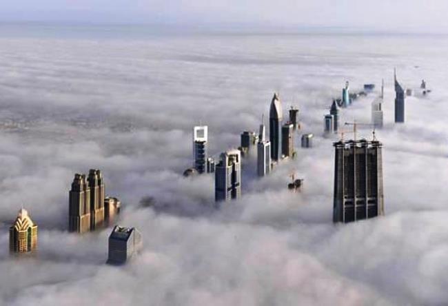 Real skyscraper Burj Khalifa 5