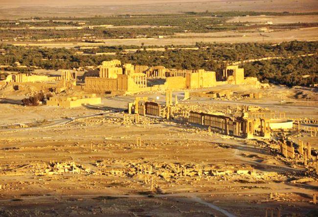 Syria the ancient city of Palmyra 3