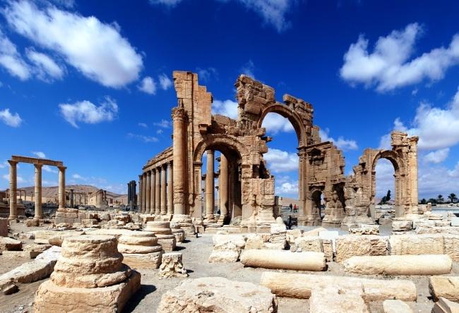 Syria the ancient city of Palmyra 5