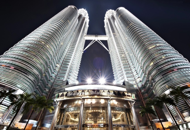 Well a very unusual skyscraper Petronas 5