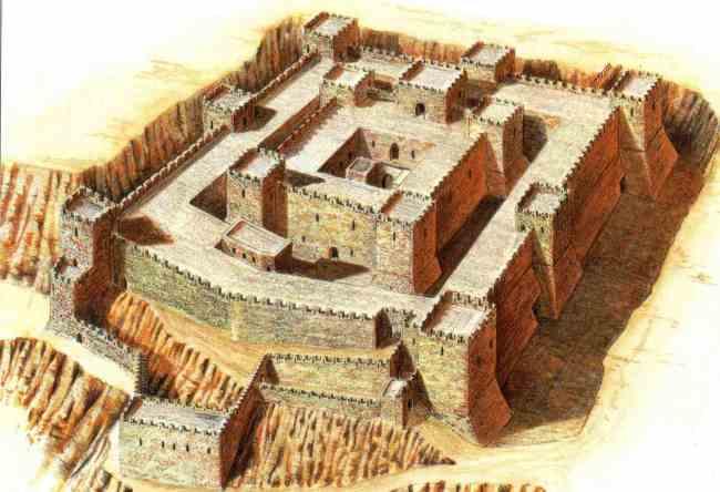 Belvoir Fortress in Israel 2