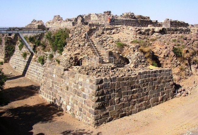Belvoir Fortress in Israel 3