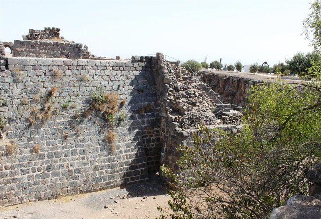 Belvoir Fortress in Israel 4
