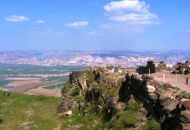 Belvoir Fortress in Israel 5