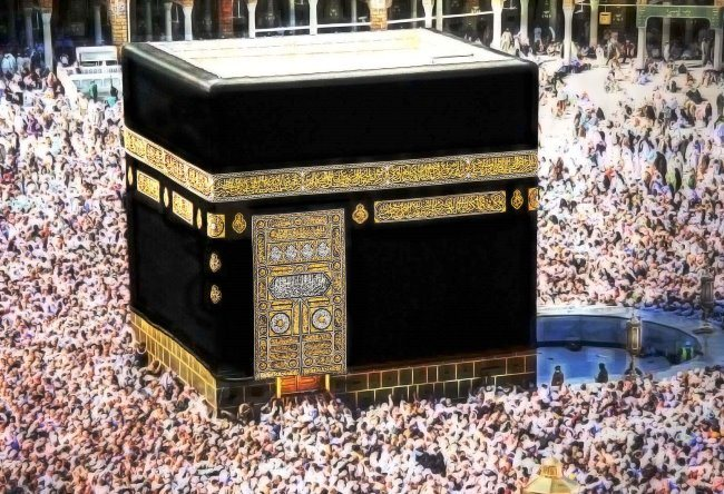 The main Muslim sanctuary Kaaba 5