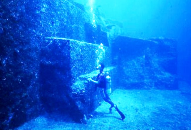 City Yonaguni underwater 3
