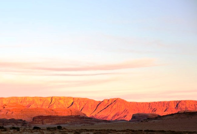 Moonlight desert of Wadi Rum 5