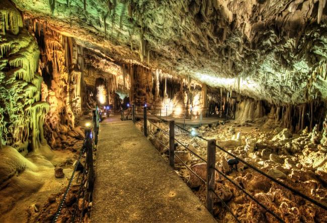 Soreq Cave at the Avshalom Beit Shamesh 3