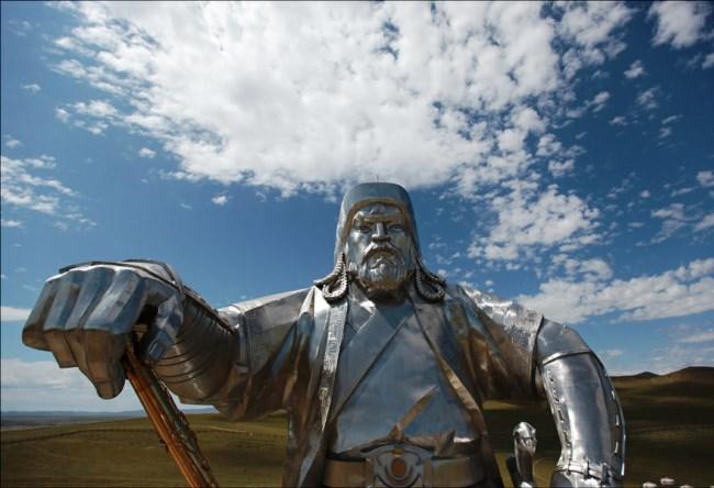 Statue of Genghis Khan near Ulaanbaatar 3