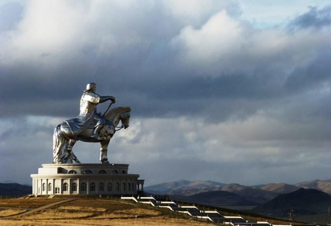 Statue of Genghis Khan near Ulaanbaatar 5