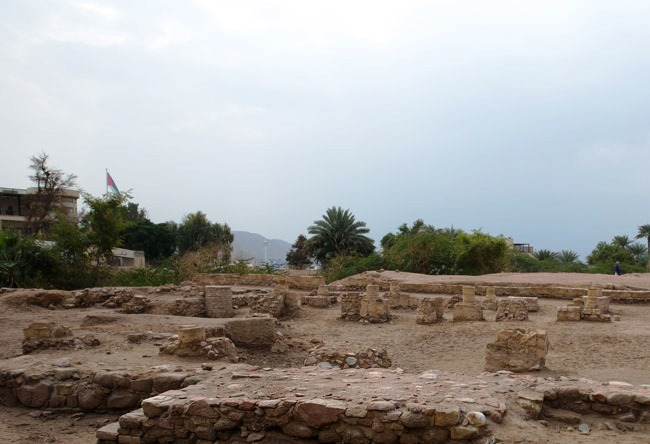 Ayla ruins is the ancient city of Islam 2