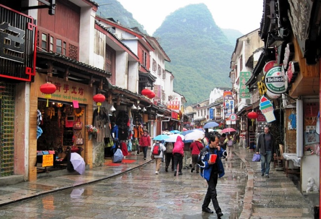 The natural magnetism of the Yangshuo city 3