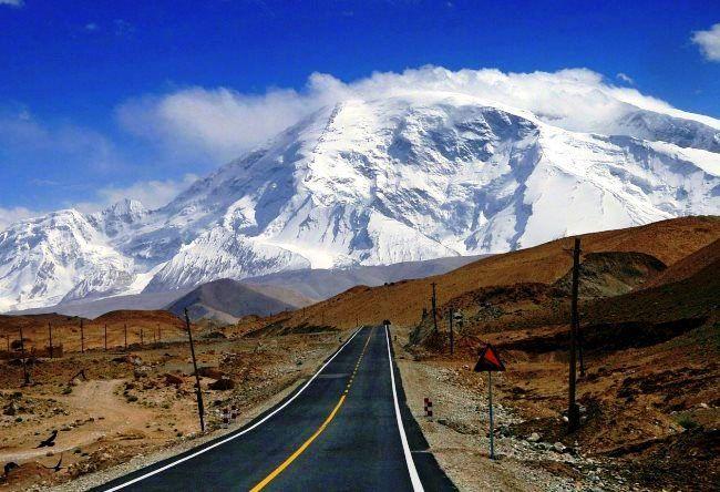 The most dangerous road is the Karakoram Highway 2