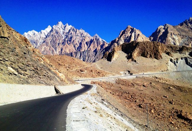 The most dangerous road is the Karakoram Highway 4