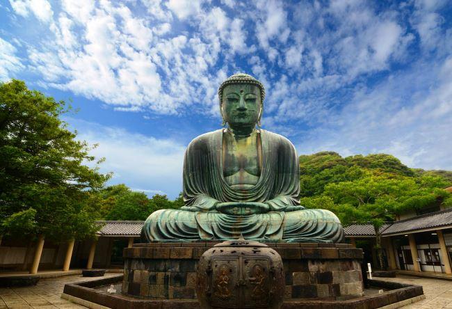 Buddha statue in Kamakura 2