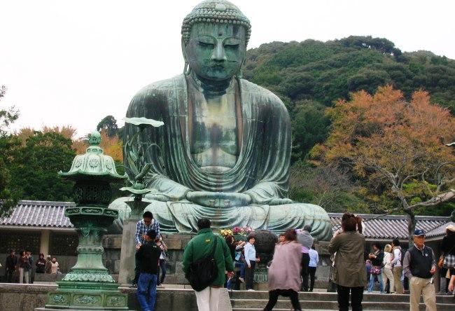 Buddha statue in Kamakura 4