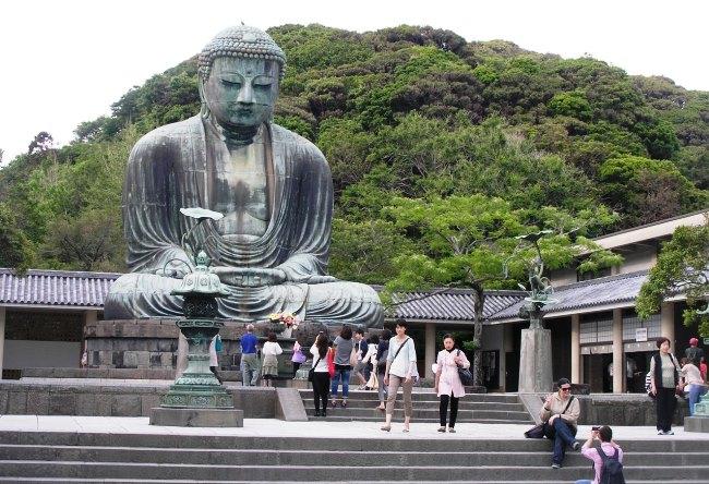 Buddha statue in Kamakura 5
