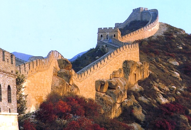 Serpents shaft and Wall of China is the hand of the master 5