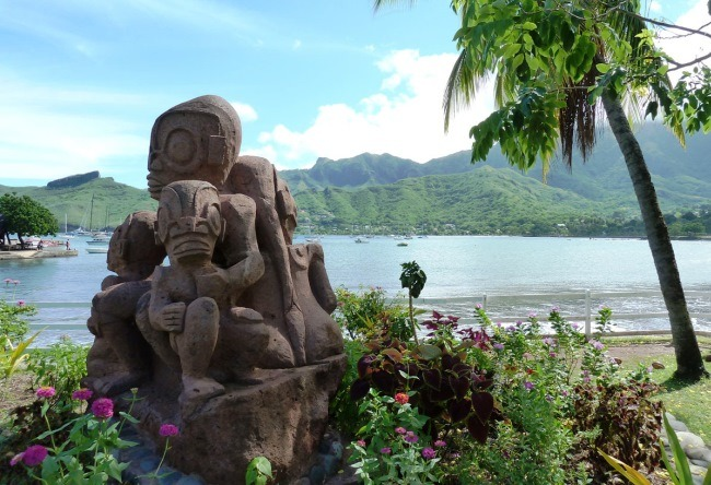 A little more about Nuku Hiva 5