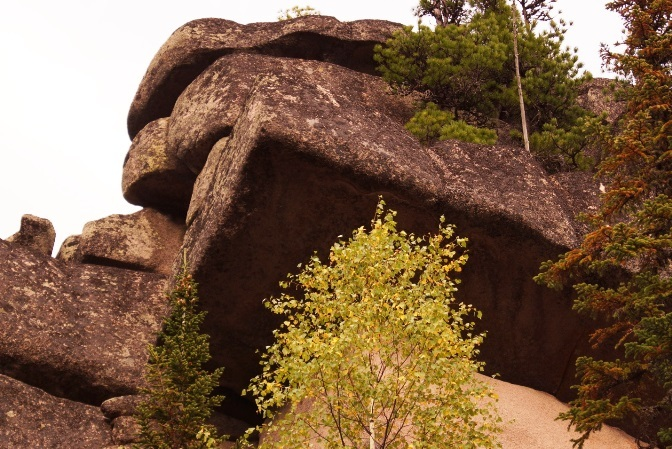 The ancient megaliths Mountain Shoria 4