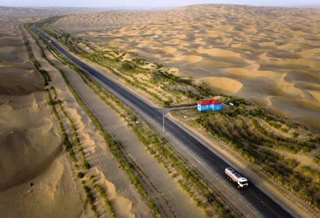 Tarim Highway - the longest in the world 3