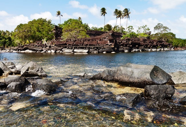 Ancient towns of Caroline Islands Nan-Mandol 2