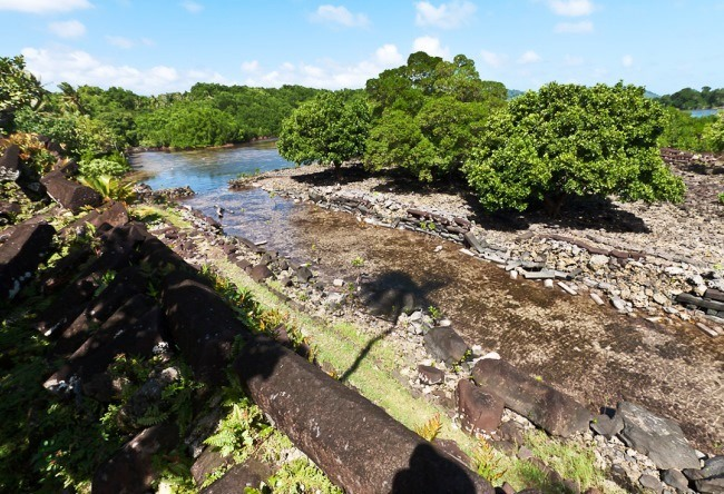 Ancient towns of Caroline Islands Nan-Mandol 5