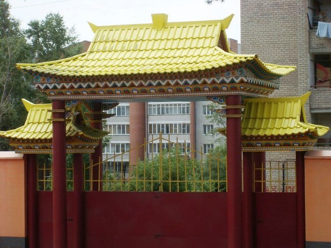 The modern center of Buddhism in Russia - Chitinsky datsan 2