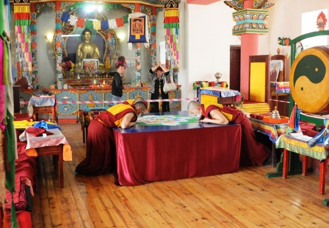 The modern center of Buddhism in Russia - Chitinsky datsan 5