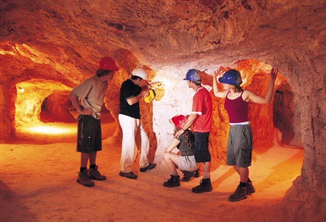 1481.австр. Подземный город Кубер-Педи 3