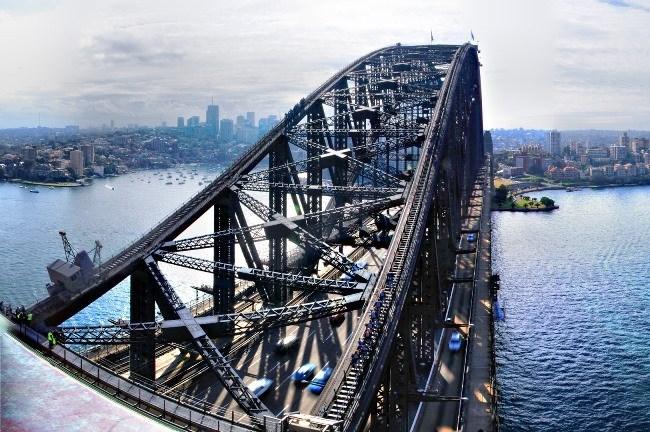Самый большой арочный мост на земле