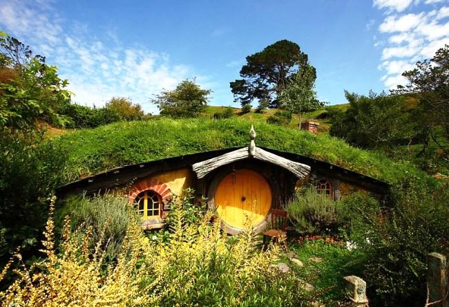Деревня Хоббитон в Новой Зеландии 3