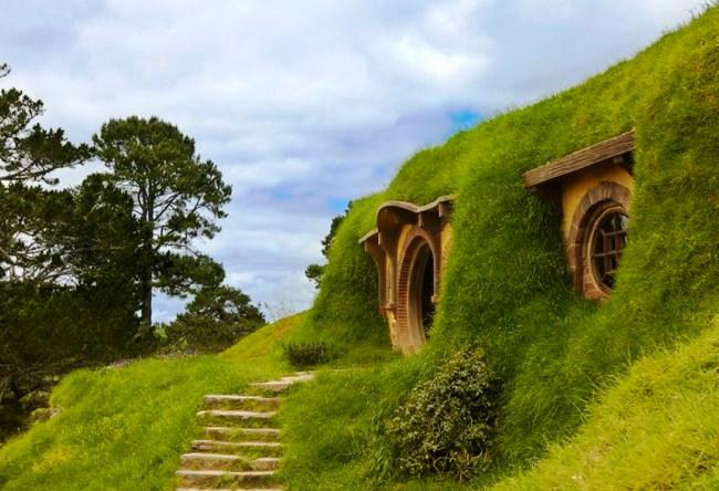 Деревня Хоббитон в Новой Зеландии 5