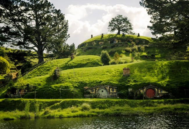 Деревня Хоббитон в Новой Зеландии 7