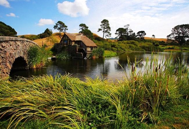 Деревня Хоббитон в Новой Зеландии 8