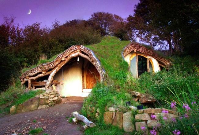 Деревня Хоббитон в Новой Зеландии 9