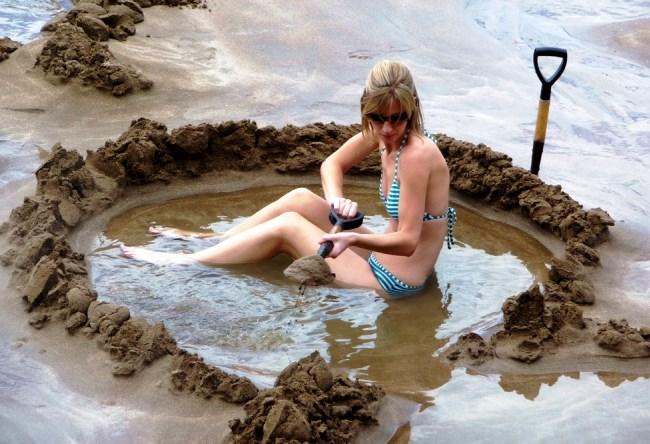 Уникальный пляж с подогревом или природный спа-салон 2