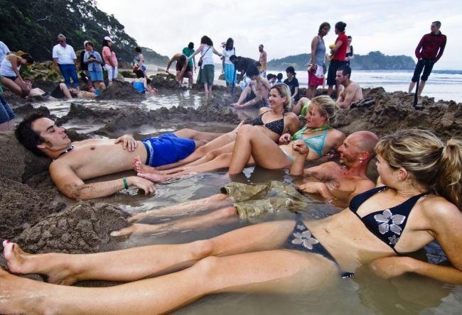 Уникальный пляж с подогревом или природный спа-салон 3