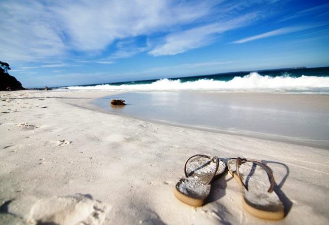 Пляж с самым белым песком в мире 2