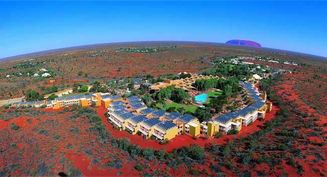 resort aerial large