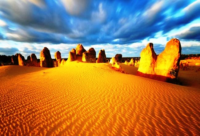 Красота пустыни Пиннаклс 2