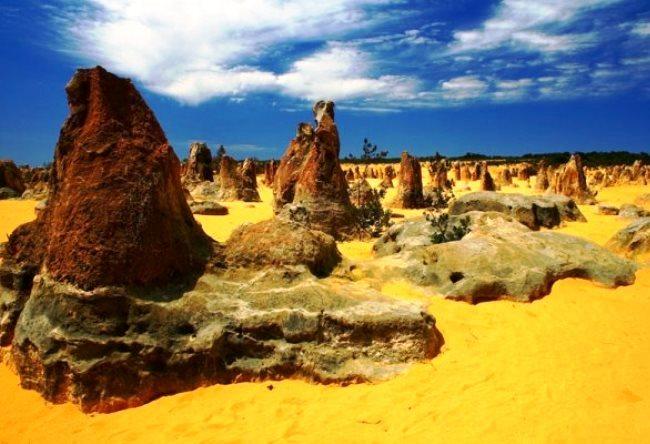 Красота пустыни Пиннаклс 4
