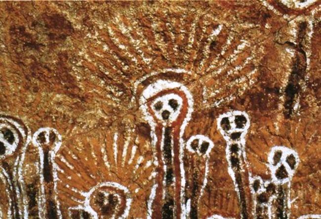 Необычные петроглифы Австралии 3