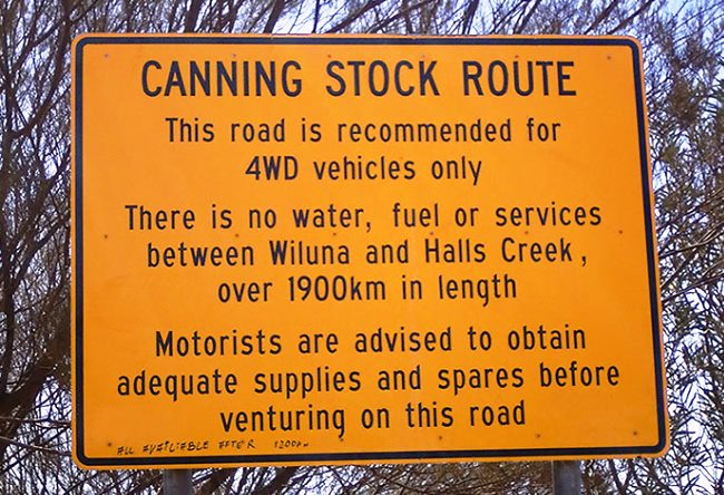 Canning Stock Route is the most deserted road in the world 2