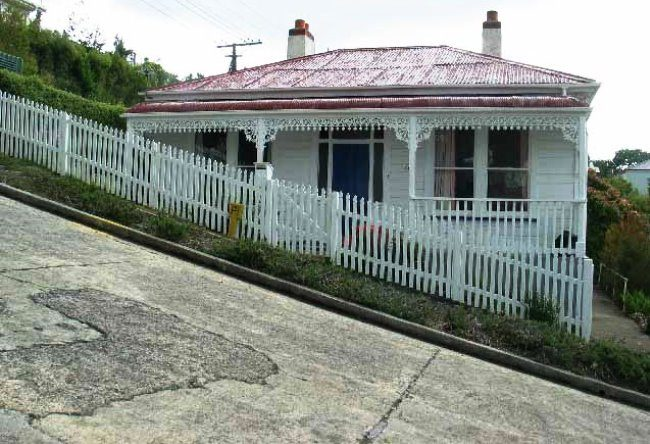 The steepest street in the world in the city of Dunedin 2