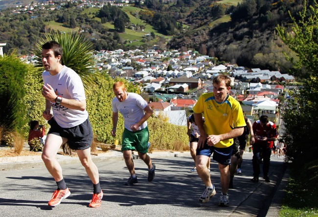 The steepest street in the world in the city of Dunedin 5