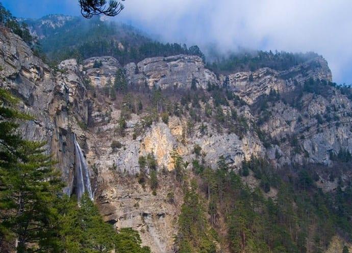 Курорты Европы Крым водопад Учан-Су 3