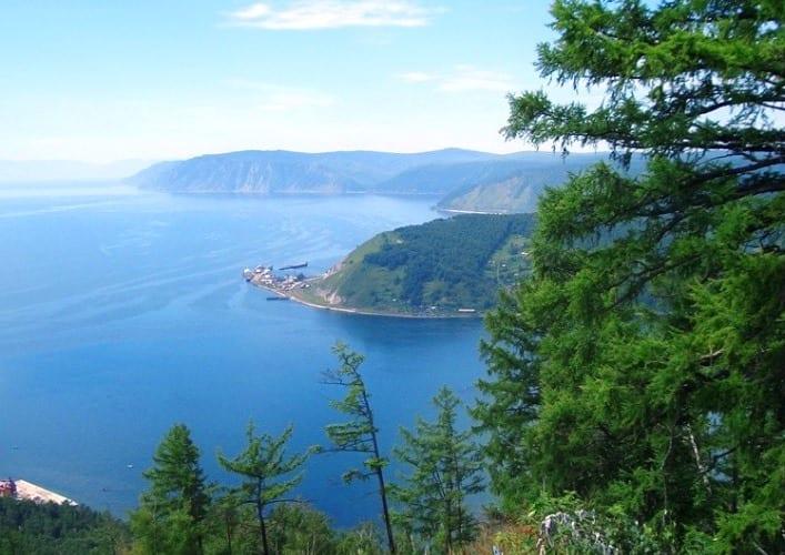 Путешествие по России Байкал  великое озеро 3
